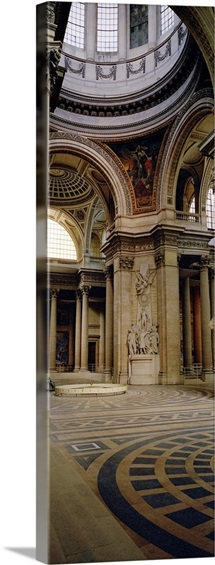 Pantheon Interior Paris France