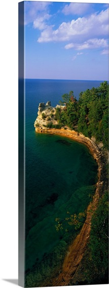 Pictured Rocks National Lake Shore Lake Superior Upper Peninsula MI
