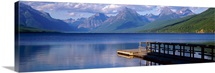 Pier Lake McDonald Glacier National Park MT