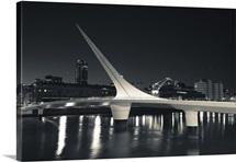Puente De La Mujer, Puerto Madero, Buenos Aires, Argentina