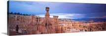 Rock formations on a landscape, Thor's Hammer, Bryce Canyon National Park, Utah