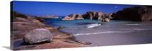 Rock formations on the beach, Elephant Rock, William Bay National Park, Western Australia, Australia