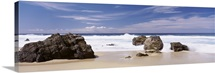 Rocks on the beach, Big Sur Coast, Pacific Ocean, California