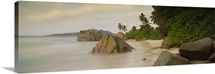 Rocks on the beach, La Digue Island, Seychelles