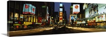 Shopping malls in a city, Times Square, Manhattan, New York City, New York State