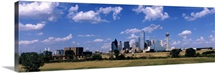 Skyline Dallas TX USA