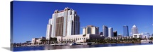 Skyscrapers at the waterfront, Tampa, Hillsborough County, Florida