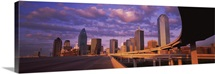 Skyscrapers in a city, Dallas, Texas