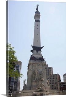 Soldiers' and Sailors' Monument in Indianapolis, Marion County, Indiana