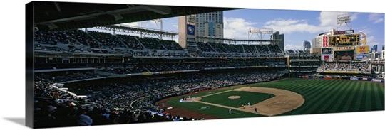 Spectators Watching Baseball