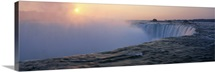 Sunrise Horseshoe Falls Niagara Falls NY