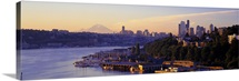 Sunrise Lake Union Seattle Washington