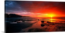 Sunset Saltburn N England