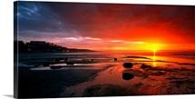 Sunset Saltburn N England