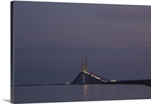 Sunshine Skyway Bridge, Tampa Bay, St. Petersburg Beach, Pinellas County, Florida