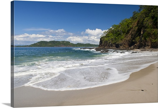 Surf on the beach, Costa Rica Beach, La Punta Papagayo