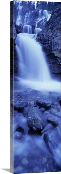 Tangle Creek Falls Jasper National Park Alberta Canada