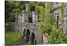 The Inner Gates and Bridge, Ballysaggartmore Towers, Lismore, County Waterford, Ireland