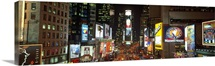 Times Square at Night New York City NY