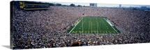 University Of Michigan Football Game, Michigan Stadium, Ann Arbor, Michigan