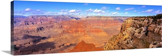 US, Arizona, Grand Canyon, view from south rim