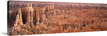 Utah, Bryce Canyon National Park, Aerial view of the Grand Canyon