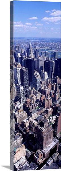 View fr Empire State Building Manhattan NY