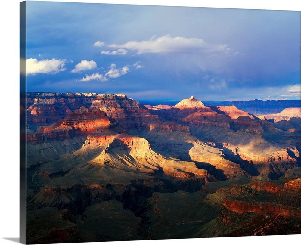 Premium Grueso-Wrap De gran Lona Pared Arte titulado vista de gran De cañón de Shoshone 472bbf