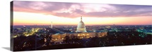 Washington DC, Capitol Building, twilight