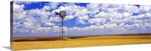 Windmill Wheat Field Othello Washington