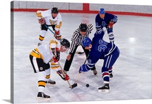 Ice Hockey face off