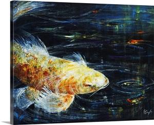 Big fish photo canvas print great big canvas for Big fish printing