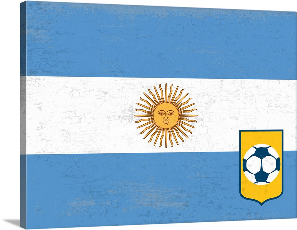 Argentina Flag To Print