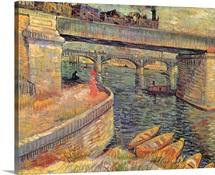 Bridges at Asnieres