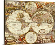 Map of the World 1670