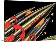 Sci Fi - Futuristic Rocket