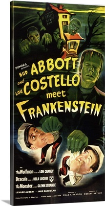 Abbott and Costello Meet Frankenstein 4