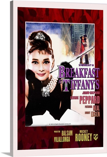 Audrey Hepburn Breakfast At Tiffanys Xmas
