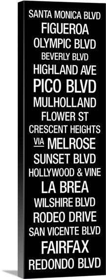 Bus Roll: LA Streets