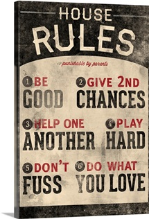Do What you Love Family Rules