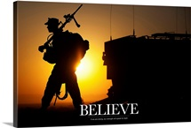 Military Poster: Believe
