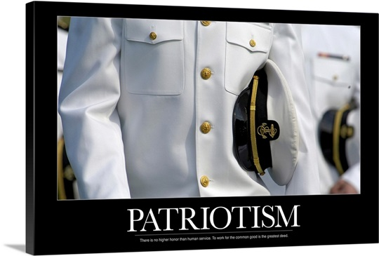 Military Poster: Patriotism