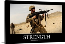 Military Poster: Strength