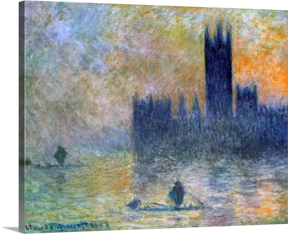 The Houses of Parliament (Effect of Fog)