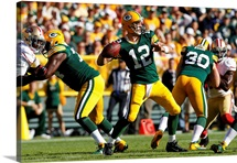 49ers Packers Football - Aaron Rodgers