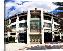 A view of Alex Rodriguez Park at the University of Miami in Coral Gables, Florida.