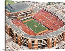 Aerial View of Boone Pickens Stadium