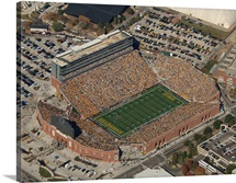 Aerial View of Kinnick Stadium