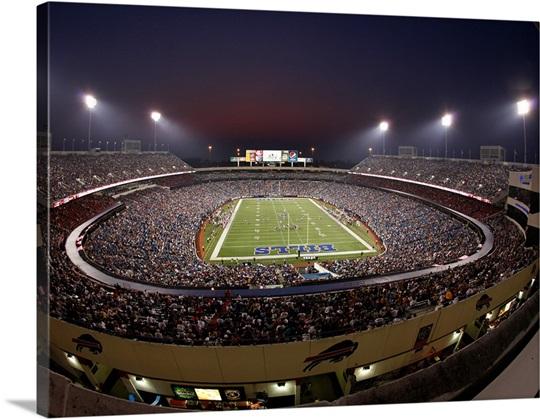 Aerial View of Ralph Wilson Stadium