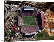 Aerial View of Vaught Hemingway Stadium